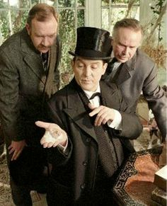 Sherlock, Watson and a client