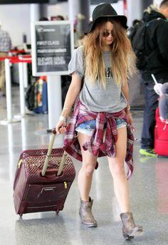 Vanessa Hudgens wearing One Teaspoon Original Bandits Denim Shorts