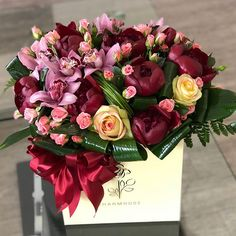 A World of Flowers for You Mothers Day Flowers, Flowers For You, Love Flowers, Beautiful Flower Arrangements, Floral Arrangements, Luxury Flowers, Happy Birthday Greetings, Flower Aesthetic, Flower Boxes