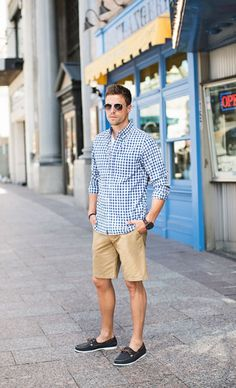 Simple and cool boat shoes outfit for mens 56 - Fashionetter