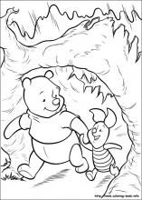 Winnie the pooh Coloring Pages Cartoon Coloring Pages, Disney Coloring Pages, Animal Coloring Pages, Colouring Pages, Coloring Pages For Kids, Coloring Sheets, Adult Coloring, Coloring Books, Colorful Drawings