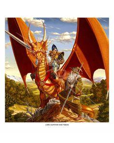 Dragonlance - Lord Gunthar & Fisban