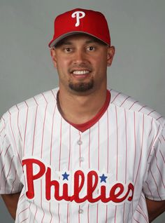 Shane Victorino when he was with my favorite team The Philadelphia Phillies. Miss you Shane.