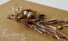 Ręcznie robiona kartka wielkanocna/ #handmade #Easter #card #craft