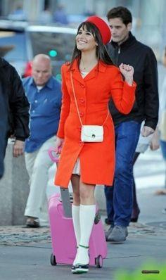 Rachel Berry in New York :)