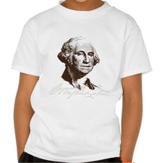 Signature George Washington Tee T Shirt, Hoodie Sweatshirt