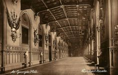 St. George's Hall , Windsor castle
