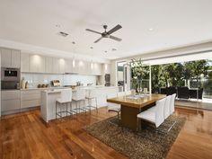 Queenslander kitchen/ living