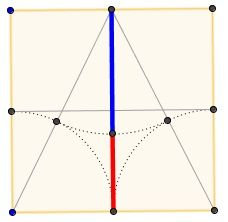 Golden Ratio In a 2x2 Square: Without And Within, diagram 3