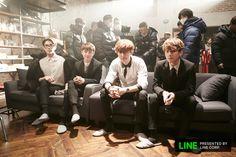 EXO next door- Sehun, D.O, Chanyeol and Baekhyun
