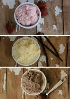 Easy Homemade Frozen Yogurt...http://homestead-and-survival.com/easy-homemade-frozen-yogurt/