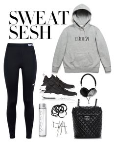 """""""Untitled #4858"""" by theeuropeancloset on Polyvore featuring NIKE, H&M, Frends and Chanel"""