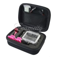 Shockproof portable Camera case bag for Gopro Accessories Hero HD 2 3 Go Pro 3+