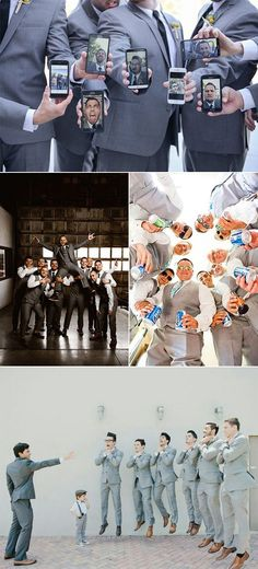 15 Creative and Fun Groomsmen Wedding Photo Ideas – Oh Best Day Ever – funny wedding pictures Groom And Groomsmen, Groomsmen Wedding Photos, Beach Wedding Photos, Wedding Pictures, Wedding Ideas, Wedding Fun, Creative Wedding Inspiration, Creative Ideas, Before Wedding