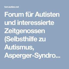 Forum für Autisten und interessierte Zeitgenossen (Selbsthilfe zu Autismus, Asperger-Syndrom, atypischer-, Kanner-, NFA, MFA, HFA) - Thema: Instinkt