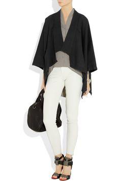 Oak kimono, J Brand jeans, Alexander Wang shoes & bag