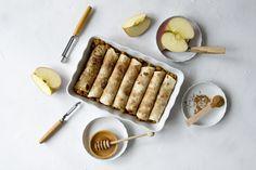 Tortillas, Custard, Apple Pie, Fondue, Cupcakes, Lunch, Cheese, Tableware, Desserts