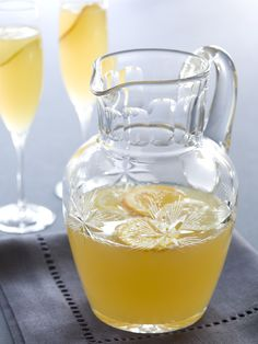 Champagne Punch recipe from Emeril Lagasse via Food Network