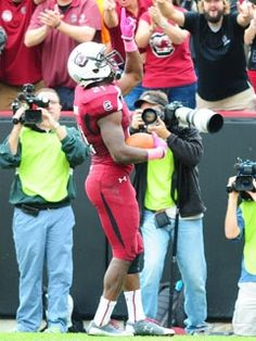 """One of the true """"Hearts of the Carolina's""""!!  We love you Marcus!"""