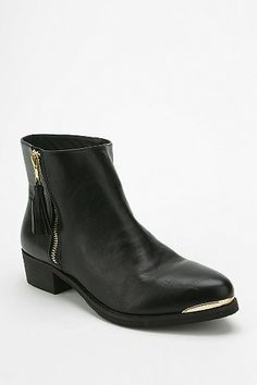 Side-zip ankle bootie
