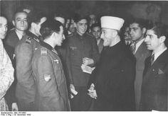 Azeri-Türk askerleri ve Kudüs Müftüsü