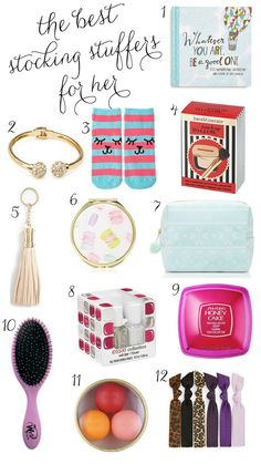My list of the top stocking stuffers for the women in your life | Ashley Brooke Nicholas.