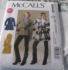 Misses Jacket McCALLS Pattern 6442 sizes 12 to by stephaniesyarn, $9.98