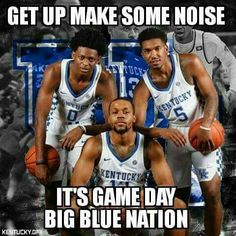 It's game day, #BBN, and when the Gamecocks and Wildcats take the Floor it'll be a Matchup of Strength vs. Strength. So Let's Go BBN, We got this!!!! #BBN4Life #WeAreUK