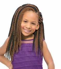 Braids for Kids & UP! - Kanekalon & Toyokalon fiber - Flame Retardant - Good for Crochet Braid - Can be Hot Water Set - Looped for Easy and Fast Styling Kids Box Braids, Crochet Braids For Kids, Crochet Hair, Crochet Box, Hat Crochet, Blanket Crochet, Free Crochet, Little Black Girls Braids, Black Girl Braids