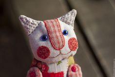 Купить или заказать Кукла текстильная Кошечка Груня в интернет-магазине на  Ярмарке Мастеров. Кошечка 0063f364515