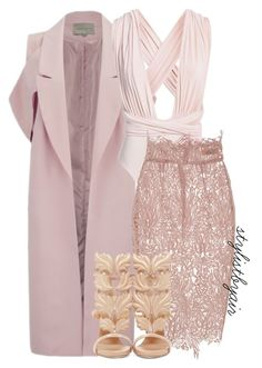 """Untitled #4019"" by stylistbyair ❤ liked on Polyvore featuring Lavish Alice, Blumarine and Giuseppe Zanotti"