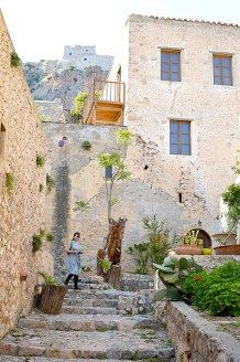 Discover Monemvasia – the medieval city of Greece – ellwed Medieval Fortress, Greece, Island, City, Plants, Artists, Greece Country, Islands, Cities