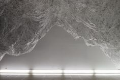 "Onishi Yasuaki, ""Reverse of Volume RG"" Installation, 2012 #art #sculpture"