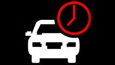 Nueva señalización sobre tiempos de recorrido, reloj rojo = atasco, reloj blanco = circulación fluida