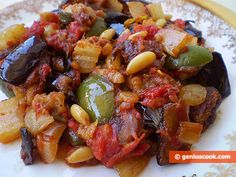 Sicilian Caponata (Caponata alla Siciliana) - Recipe Included.