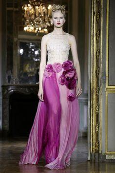 Ulyana Sergeenko Fashion Show Couture Collection Fall Winter 2015 in Paris