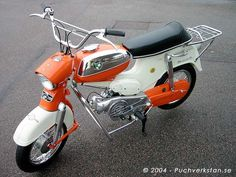 PUCH Puch Moped, Moped Scooter, Vespa Scooters, Triumph Motorcycles, Small Motorcycles, Mini Motorbike, Moped Motorcycle, Custom Mini Bike, Custom Bobber