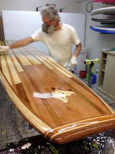 wooden surfboards july 2011 single fin pinterest surfbretter surfen und bretter. Black Bedroom Furniture Sets. Home Design Ideas