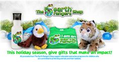 Visit the Earth Rangers Shop for gift ideas that make an impact. Shop for gifts that every animal lover will appreciate, and support Earth Rangers' important work at the same time. Holiday Gift Guide, Holiday Gifts, Animal Habitats, Christmas Is Coming, Kids Online, Happy Holidays, Baby Gifts, Earth