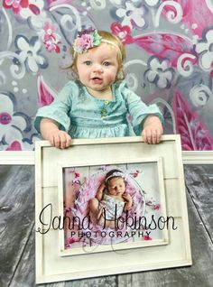 One year and newborn picture!