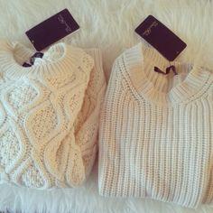 Zara sweaters #thecozykloset