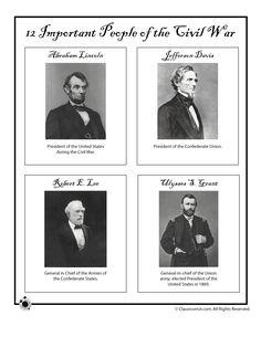 Civil War Generals and Presidents