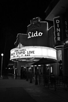 The Lido- Newport Beach, Ca  Beautiful vintage theater.  You have got to see the inside.  Great venue for a Valentines Date.
