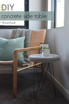 Kmart Hack: DIY Concrete Side Table – STYLE CURATOR