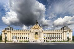 Petit Palais in Summer under a threatening cloud by Loïc Lagarde on 500px