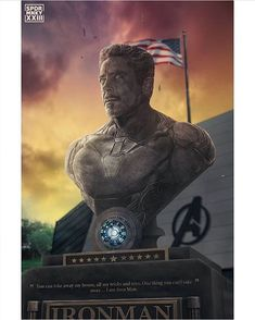 The Avengers 392094711309595840 - Iron Man, Tony Stark ~ YES! A huge remind of Tony Stark, a statue dedicated to home, not a tiny wreath floating on a lake. Something people can actually visit! Marvel Comics, Hero Marvel, Marvel Funny, Marvel Art, Marvel Memes, Captain Marvel, Comics Spiderman, Iron Man Spiderman, Thanos Avengers