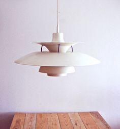 Danish designer Poul Henningsen PH 5 pendant 1958. Design classic