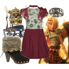 """How To Train Your Dragon: Astrid"" by heytrain on Polyvore"