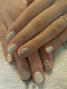 ツイードネイル♥  tweed nail