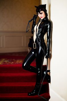 Catwoman from Batman worn by Mostflogged